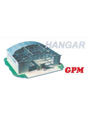 Hangar Lasercutmodell