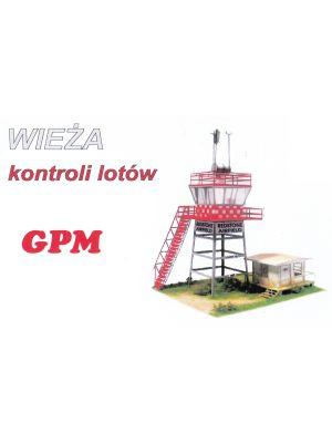 Control Tower Lasercutmodell