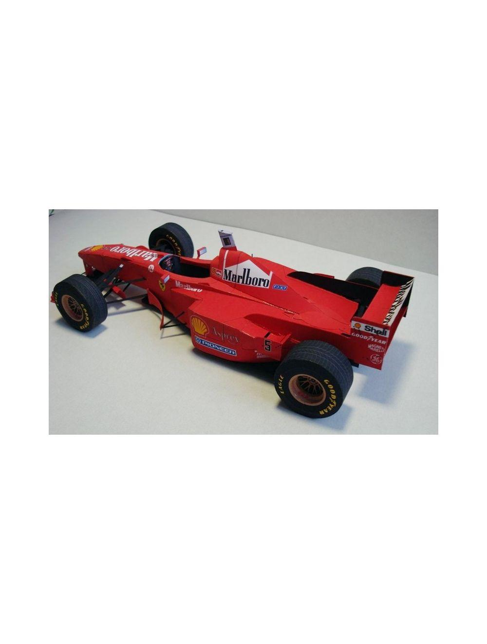 Ferrari F310b Fentens Kartonmodellbau