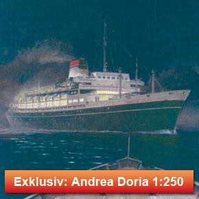 Andrea Doria & Stockholm 1:250