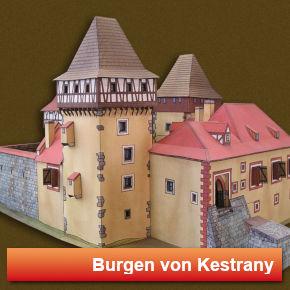 Burgen von Kestrany