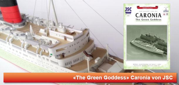 Britisches Passagierschiff Caronia
