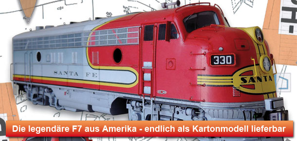 Diesellokomotive F7A Santa Fe