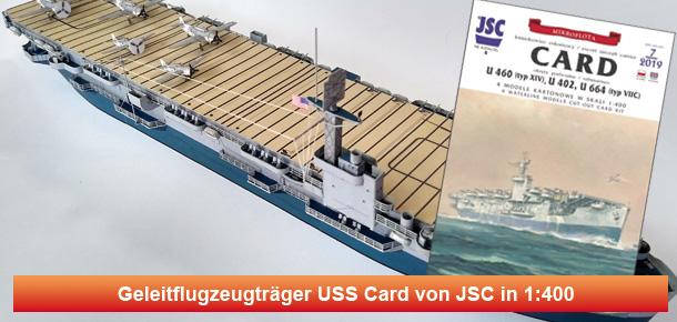 US Geleitflugzeugträger USS Card