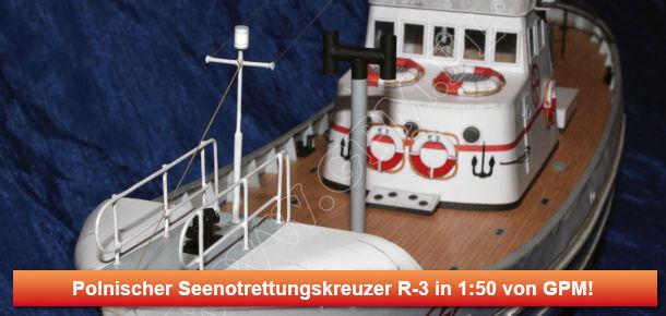 Polnischer Seenotrettungskreuzer R-3