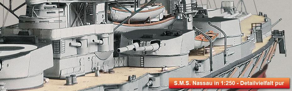 Linienschiff S.M.S. Nassau