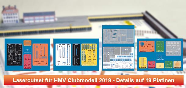 Lasercutsatz für Clubmodell 2019